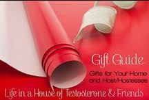 Gift Guide - Home and Hosts / We have a great selection of gifts for your home or for the host/hostess of your next party!