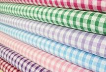 Trend: Don't be Square / Sure, many people will look at a checkered blue and white or red and white fabric and think of a picnic table cloth. But leave it up to fashion designers to turn this gingham pattern into a trend that you can wear all season, and not just at picnics.