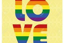 My ❤️ is so Proud! / LGBT love & happiness / by Stephanie Matheson Aderhold