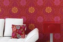 Trend: Wallpaper / Just when you thought bold patterns in unique shapes and color schemes were meant for only walls and bam! Welcome the plethora of printed fabrics to adorn fashion wares this month, that make even walls boring!