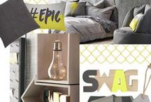 Uranium Collection / BOLD & BRIGHT Give your decor a jolt of style with a collection electrified with epic designs.