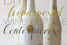 When the Wine is Gone / Things you can make with your used wine bottles and corks.