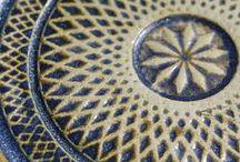 ręcznie robione kafle / handmade ceramic tiles