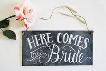 Idyllic Wedding Ideas / My Wedding Vision