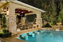 Outdoor Kitchens / Everything you need to have a wonderful outdoor kitchen!  / by Hayward Pool Products