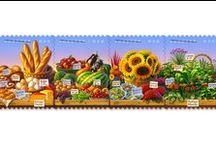 USPS Stamps / Images of postage stamps currently available at our contract postal unit.