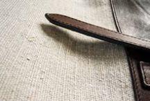 Detalles y texturas / Telas hechas a mano de de lino, algodón, Harris Tweet...