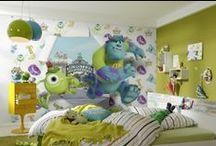 Fototapety Disneya / Piękne, bajkowe fototapety na ścianę z ulubionymi bohaterami Disneya. Dekoracje na ścianę do pokoju dziecka.