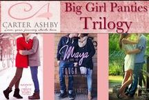 Big Girl Panties Trilogy / There's the family you're born with and the family you choose. Zoey, Maya, and Addy have chosen each other, and their bond is closer than blood. When Maya's life goes into crisis, the three women band together, without question. Along the way, they help each other stand through life's trials and find love, right under their noses.