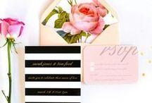 WEDDING || invitations