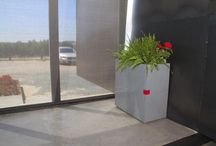 En la oficina / Jardineras modulares