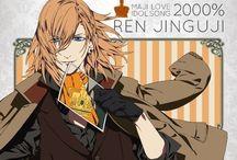 。o♡ Jinguji Ren ♡o  。 / The most smexy singer in Uta no Prince Maji Love!! He is one of my favorites!!