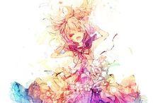 。o ♡ Anime Fashion ♡ o  。 / They are so cute and fashionable!