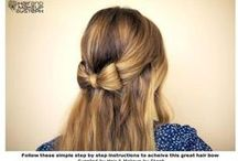 hairstyles / Easy and cute hairstyles!