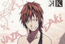 。o♡ Yata Misaki ♡o  。 / This guy is SO HAWT!! And adorable!! I love him!