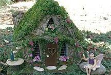 Fairy Garden / Älvor och feer / Fairy garden: houses, decoration and more Hus och tillbehör för älvor, feer, vettar och knytt