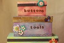 I D E A S | Craft Room Organization