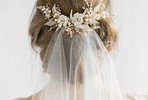 bridal makeup and hair.