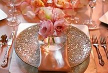 Tablescapes / BRIDES VISIT my Boards: Le Jour du Mariage or Beach Themed Wedding!  / by Gidget