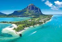 Île Maurice / Nos conseillères vous emmènent sur l'Île Maurice pour explorer ses lagons bleu turquoise et ses collines verdoyantes. Paysages paradisiaques en vue !