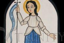 St Jehanne D'Arc St Joan of Arc Jehanette