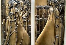 Mucha, art nouveau and Art Deco / Pins of Mucha, Art Nouveau and Art Deco and also of the 1920s and 1930s.