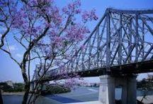 Story Bridge Brisbane / My favourite bridge, The Story Bridge. In Brisbane, Queensland, Australia.