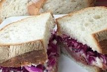 Sandwiches and Paninis / An assortment of sandwich recipes, ideas, wraps, paninis and melts.