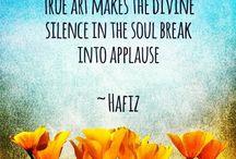 Hafiz / The glorious poetry of Hafiz.