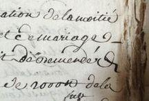 Ręcznie pisane