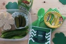 St Patty's Day Fun / Fun St Patrick's Day Food, recipes and crafts to celebrate leprechaun antics.  See clever St Patty's day tips, green foods and activities.
