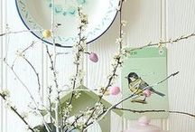 Springtime / Spring decor, recipes, crafts and activities