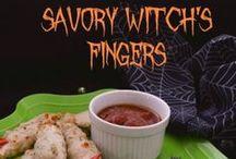 Spooky Halloween / Halloween decor and food