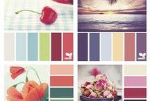 ALL THE COLOURS / Paletes de color/ Colour paletes