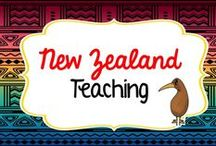 New Zealand and Maori teaching resources / New Zealand teaching resources in Te Reo Maori and English for primary students https://www.teacherspayteachers.com/Store/Montessorikiwi/Category/New-Zealand-resources