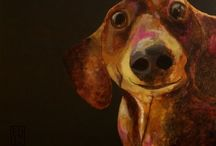 Dog Art / because... dogs...and art / by Linda Smith