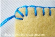 Felt / made by me / by Linda Smith