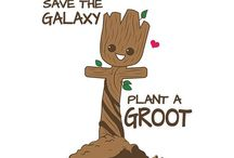 Groot and Guardians of the a Galaxy fandom / Groot, baby Groot, Guardians of the Galaxy fandom