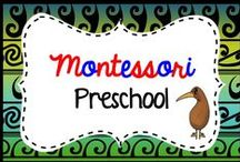 Montessori Preschool for 3-6 year olds / Find more great montessori resources here https://www.teacherspayteachers.com/Store/Montessorikiwi/Category/Montessori-3-6-171250