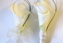 CALLA LILY THEMED WEDDING