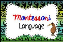 montessori language / Montessori language activities for Elementary