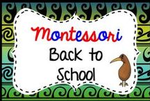 montessori back to school / Montessori back to school activities. Find my back to school resources here: https://www.teacherspayteachers.com/Store/Montessorikiwi/Category/Back-to-school