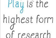 Children - Play is Work / Understanding the emotional needs of children