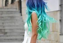 Hair / Hair inspiration, hair ideas, hair colour, hair styles, hair lengths, hair do's, up do's, down do's, etc