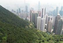 Hong Kong / Na skok v Hong Kongu.