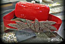 Fiesta / Bolsos, cinturones, anillos, pendientes, gargantillas y mucho más. Selección Etnia.