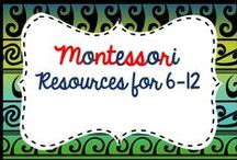 Montessori Elementary resources / Resources and blog posts for Montessori Elementary children aged 6-12. Lower and Upper Elementary. Please add free materials, montessori blogs and ideas not just paid resources