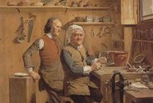 Old occupations / Sharing images of portraits which depict people from the 18th and 19th centuries at work, in a variety of different occupations and/or workplaces.  I'm the co-author of two biographies which focus on people from the 18th and 19th centuries, An Infamous Mistress: The Life, Loves and Family of the Celebrated Grace Dalrymple Elliott and A Right Royal Scandal: Two Marriages That Changed History. You can find out more here: www.amazon.co.uk/Joanne-Major/e/B01AY78JWO