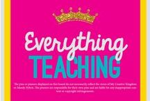 Everything Teaching! - mycreativekingdom.com / Everything Teaching is about imagination, collaboration & inspiration! The posts on this board are not endorsed by and do not reflect the views of KindergartenCastles.Com. Individual Posts are the sole responsibility of the pinner and the pinner is liable for any inappropriate content. PINNERS - 1 PAID for every 3 FREE Products EACH TIME YOU PIN.