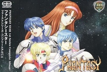 Phantasy Star / A image childhood collection of all  games... PS I, II, III and IV.